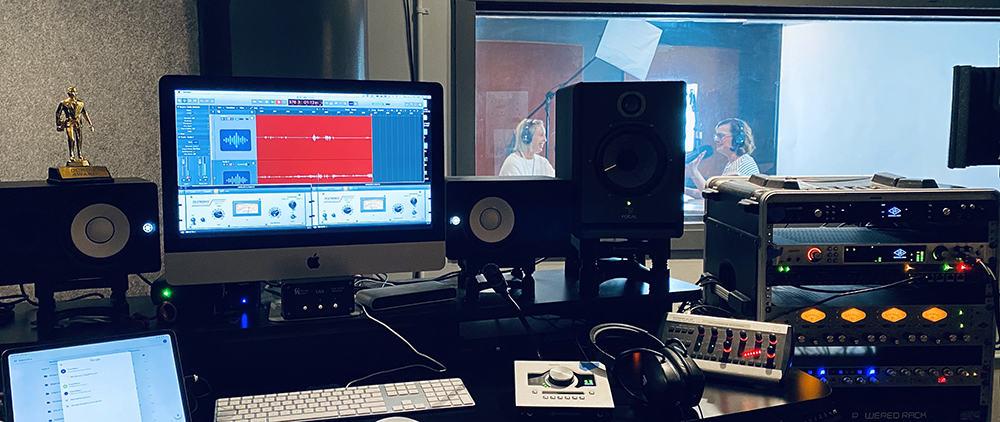 Content Creation using Audio